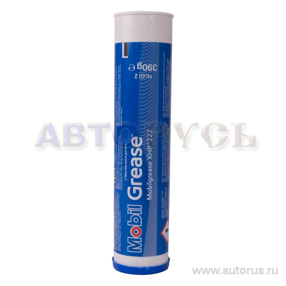 "Mobil 153553 Смазка пластичная ""Mobilgrease XHP 222"", 390гр"