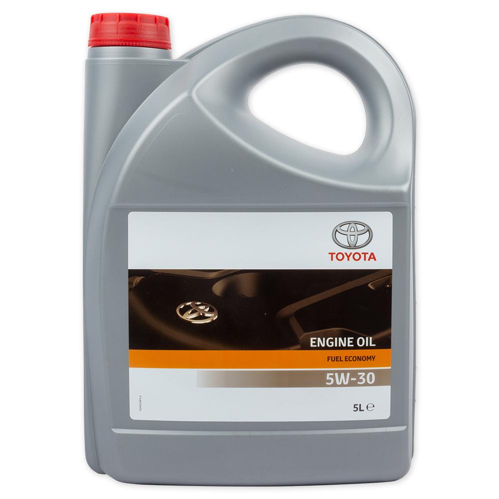 TOYOTA 0888080845 Масло моторное синтетика 5w-30 5 л.