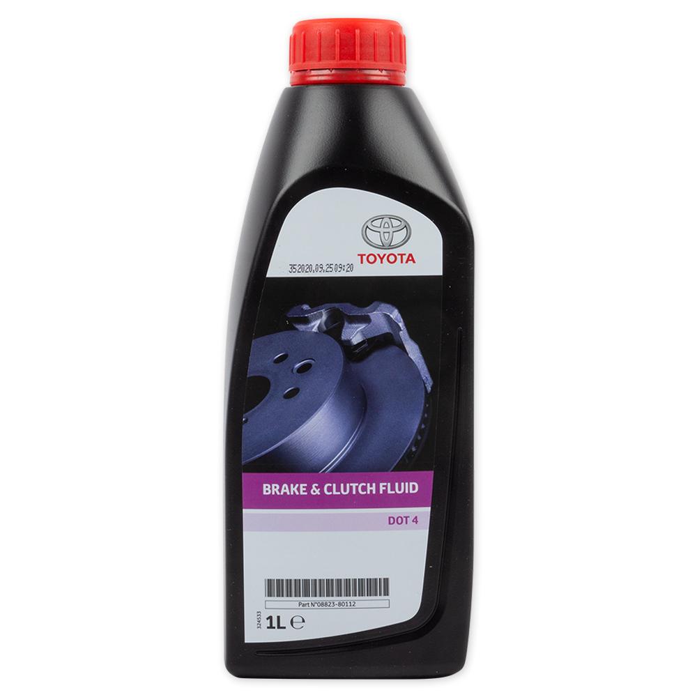 TOYOTA 0882380112 Жидкость тормозная DOT-4 (1  л.)