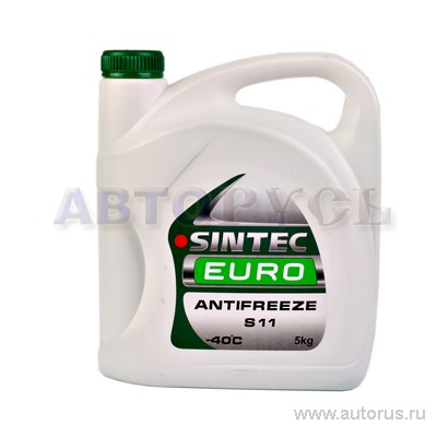 SINTEC 800523 Антифриз SINTEC EURO (зеленый) 5кг.