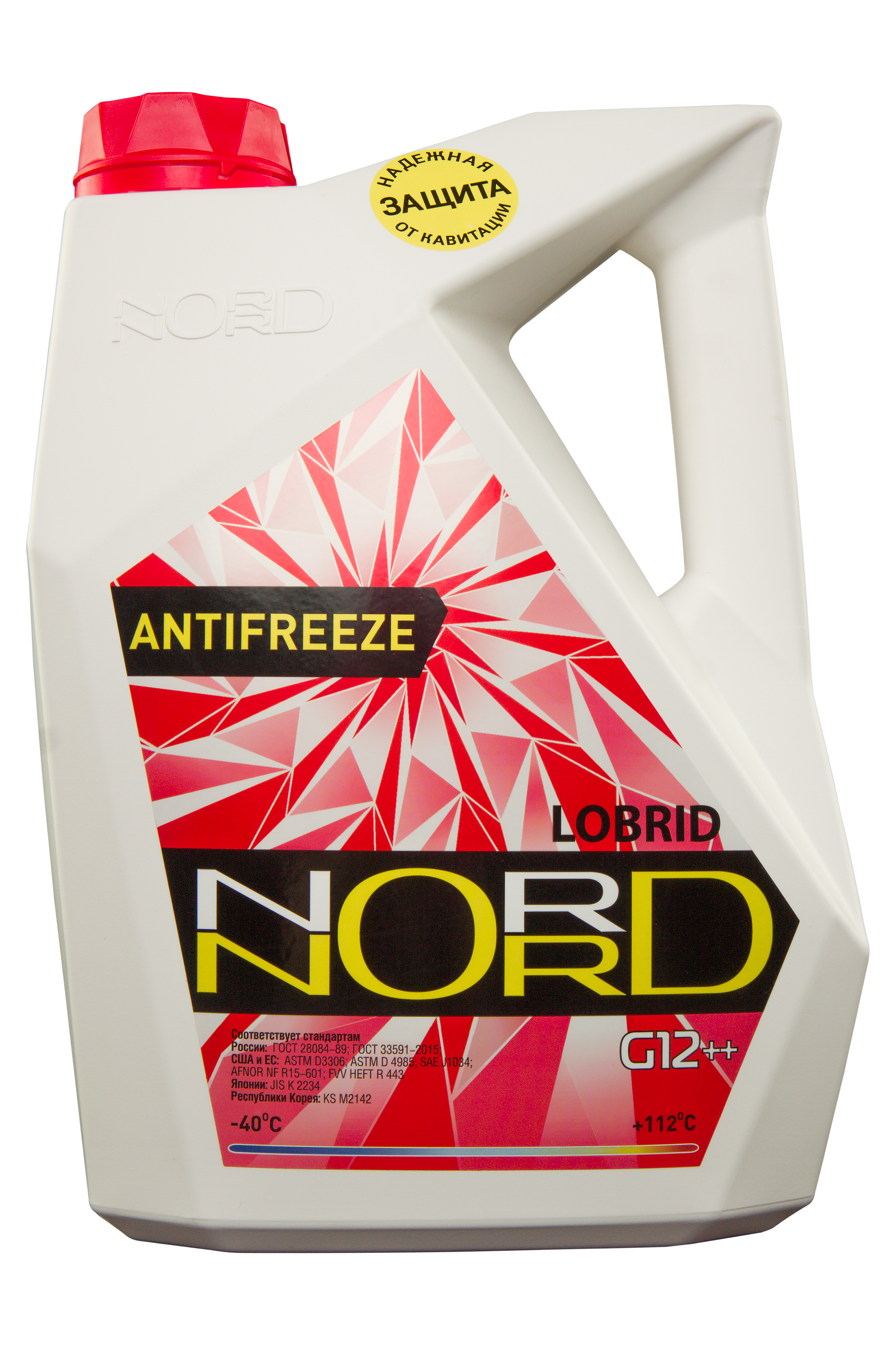 nord NR20249 Антифриз NORD High Quality Antifreeze готовый -40C красный 5 кг