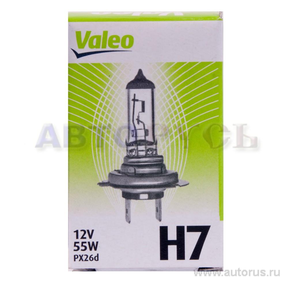Valeo 032009 Лампа галогеновая VALEO H7 PX26d 12V 55W  1шт.