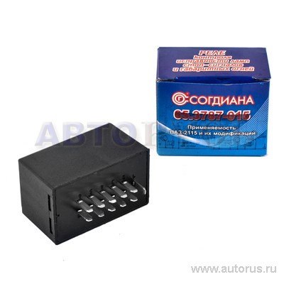 Реле-контроллер ВАЗ 2108-10, 4412.3747, 65.3777 - цена, характеристики, купить в Москве в интернет-магазине автозапчастей АВТОРУСЬ