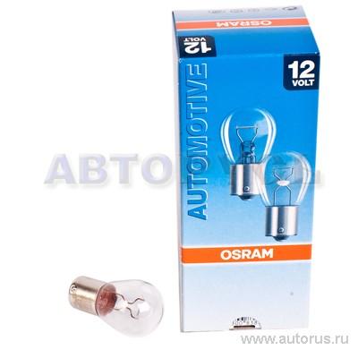 Osram 7506 Лампа накаливания OSRAM P21W BA15s 12V 21W  1шт.
