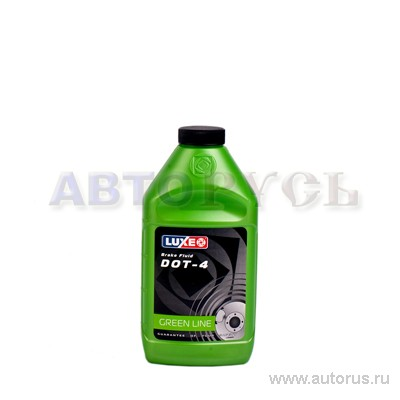 Luxe 646 Жидкость тормозная  Luxe DOT-4 (0,455 кг)