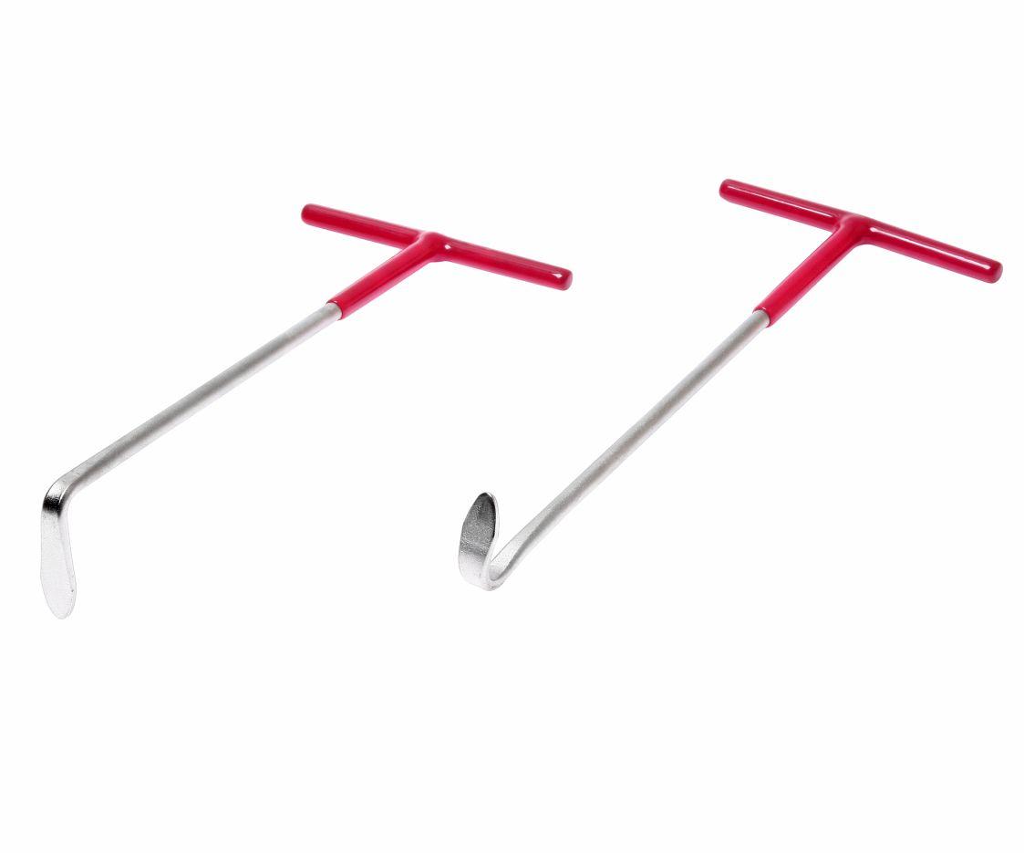 JTC JTC4660 Набор крюков для снятия втулок крепления глушителя 2 предмета