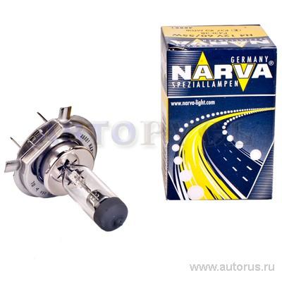 Narva 48881 Лампа галогеновая NARVA H4 P43t 12V 60/55W  1шт.