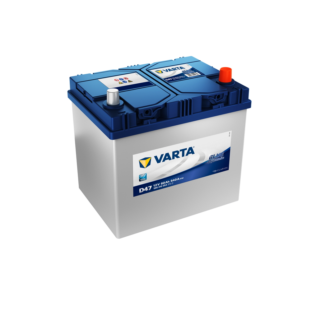 Varta 560410054 Батарея аккумуляторная 60А/ч 540А 12В обратная поляр. стандартные клеммы