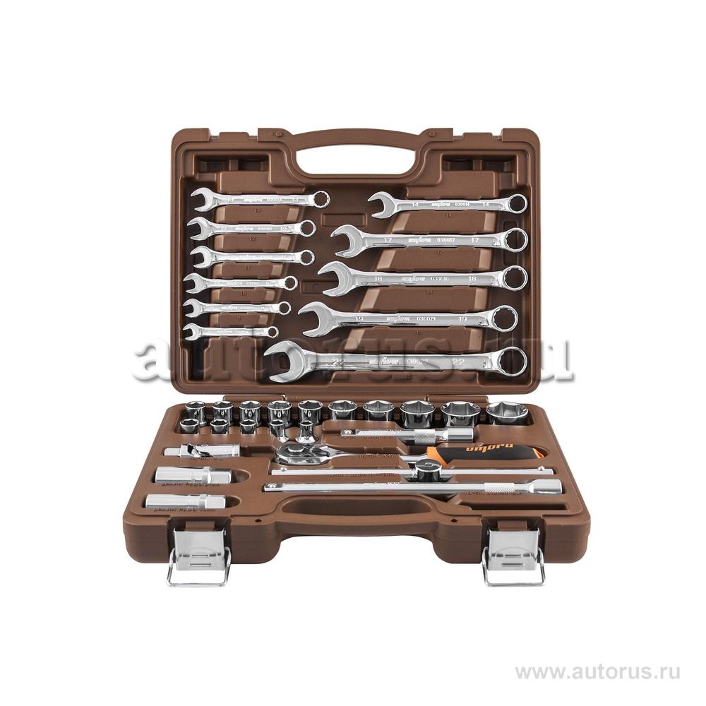 """OMBRA OMT33S OMT33S Универсальный набор инструмента торцевые головки 1/2""""DR, 8-32мм и аксессуары к ним, ко"""