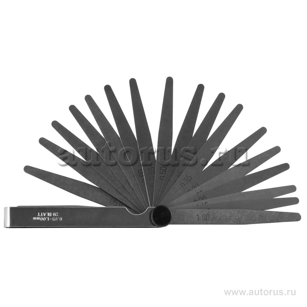 Jonnesway AI060020 Набор щупов 20 шт (0.05-1,0мм) JONNESWAY