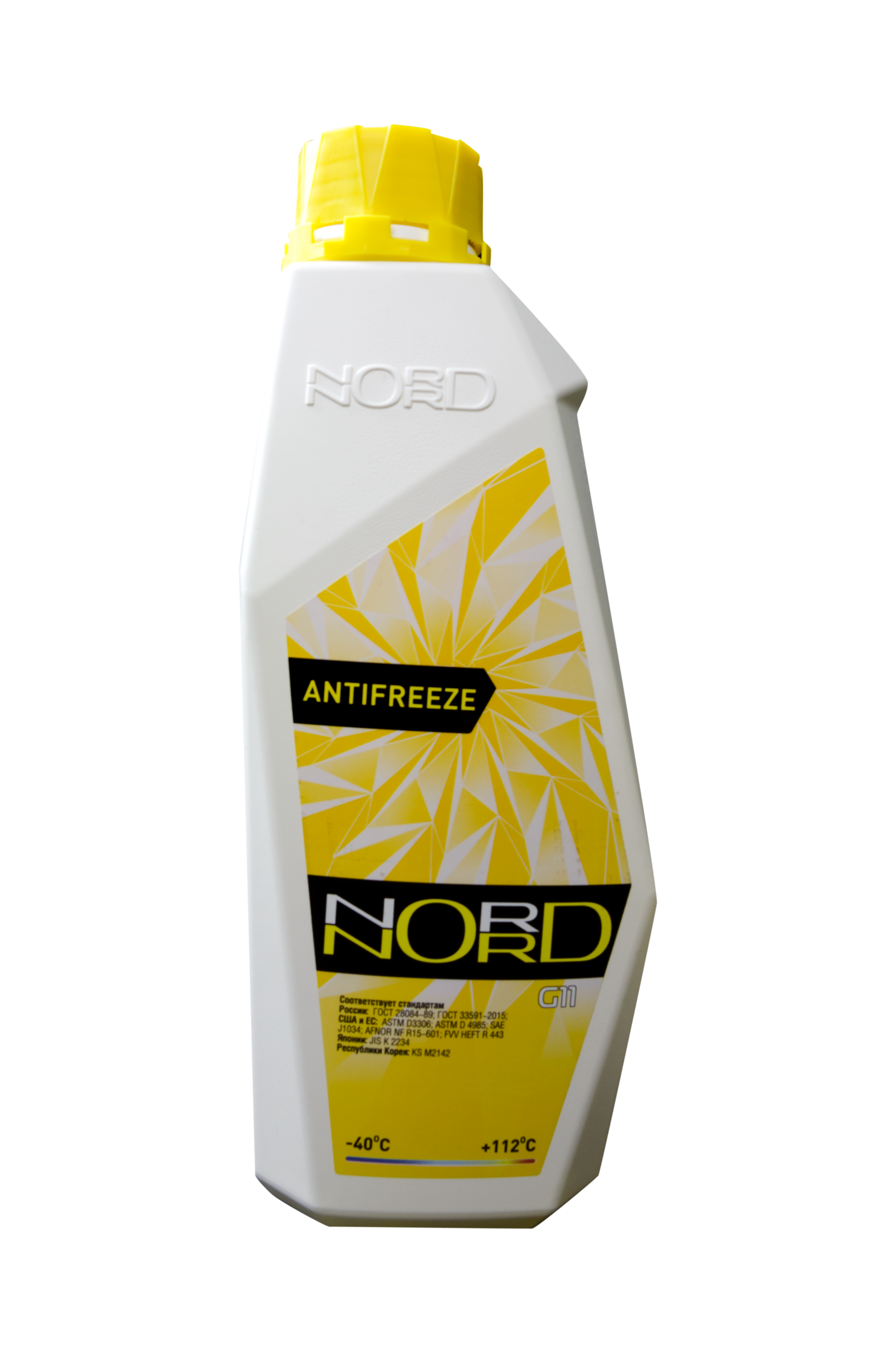nord NY20409 Антифриз NORD High Quality Antifreeze готовый -40C желтый 1 кг