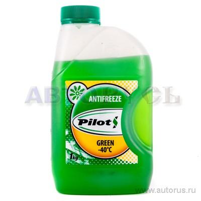 PILOTS 3205 Антифриз PILOTS Green Line 40 зеленый (1кг) 3205