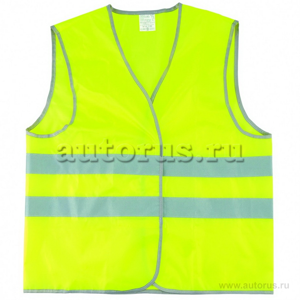 Сибртех 89516 Жилет сигнальный, желтый, размер XXL Сибртех