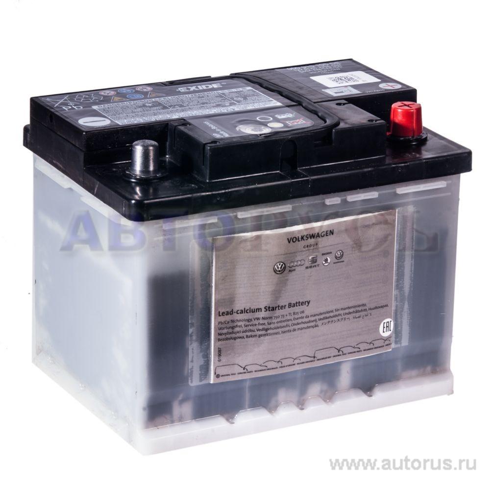 VAG 000915105DE Батарея аккумуляторная 61А/ч 330А 12В обратная поляр. стандартные клеммы