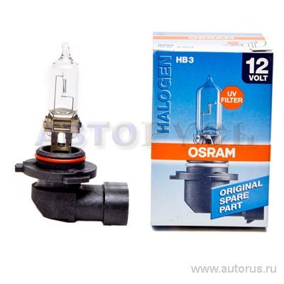 Osram 9005 Лампа галогеновая Original HB3 P20d 12 60W 3200, 1