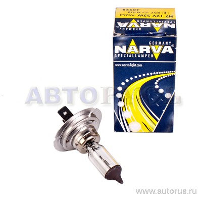 Narva 48328 Лампа галогеновая NARVA H7 PX26d 12V 55W  1шт.