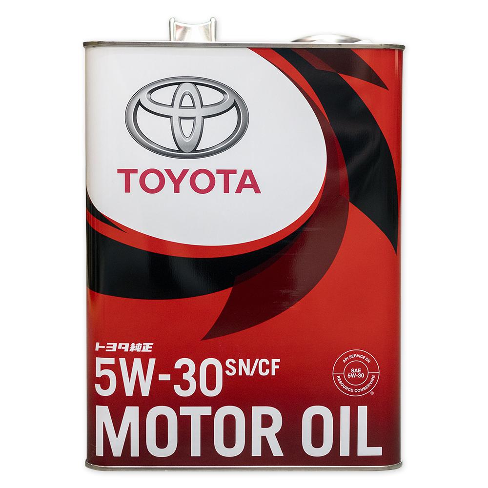 TOYOTA 0888010705 Масло моторное полусинтетика 5w-30 4 л.