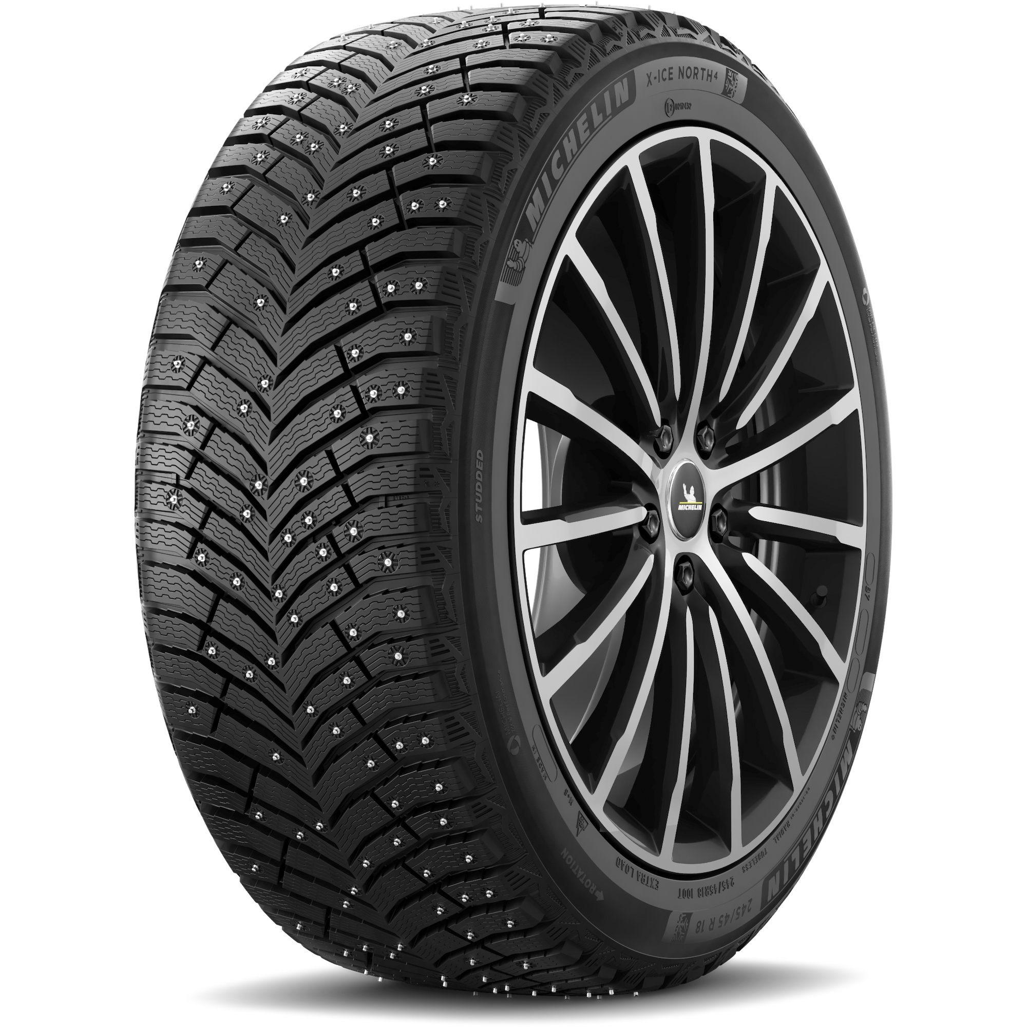 Michelin 431141 Шина зимняя шипованная Michelin X-ICE NORTH 4 205/55 R16 94T XL
