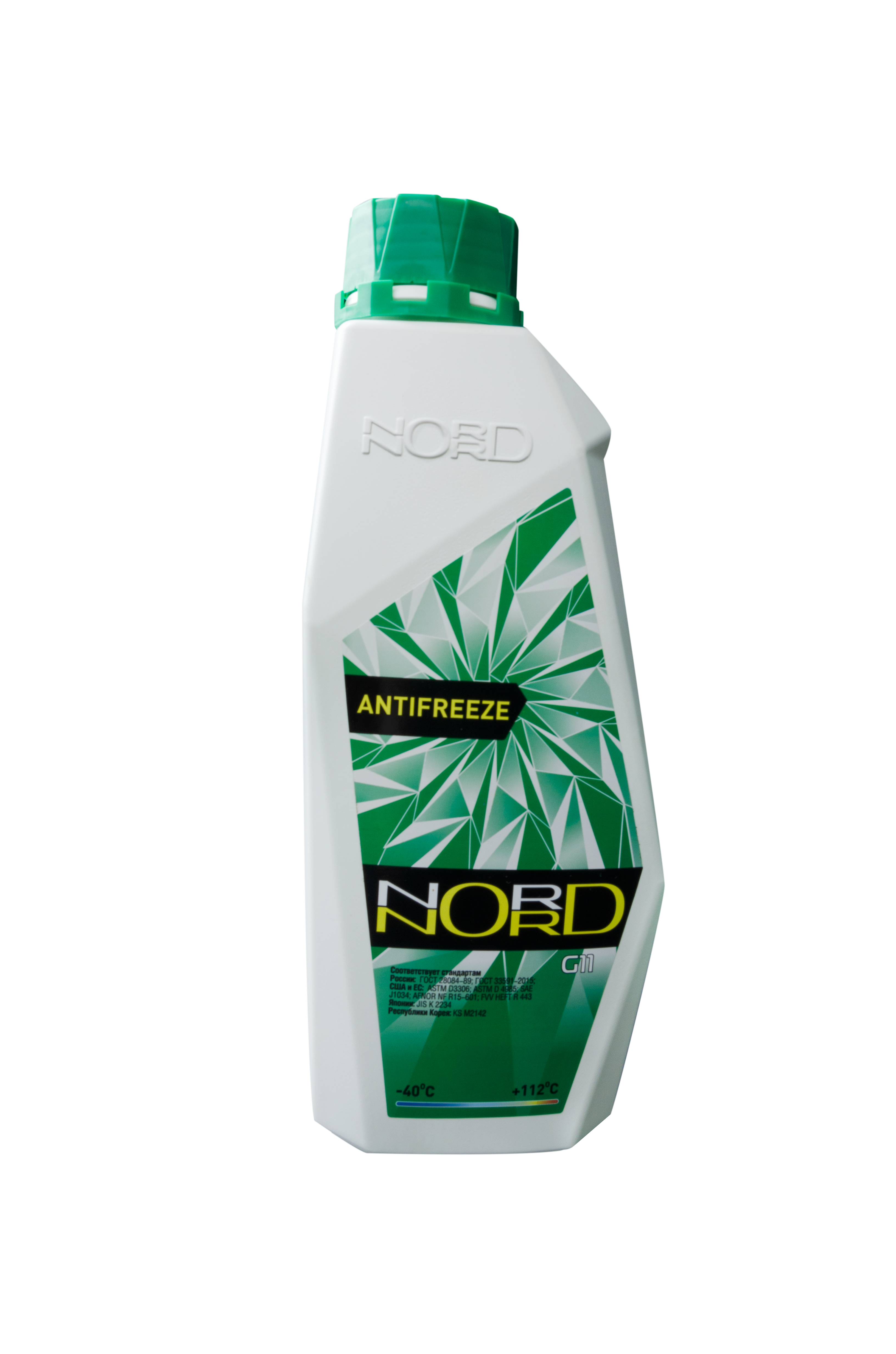 nord NG20263 Антифриз NORD High Quality Antifreeze готовый -40C зеленый 1 кг
