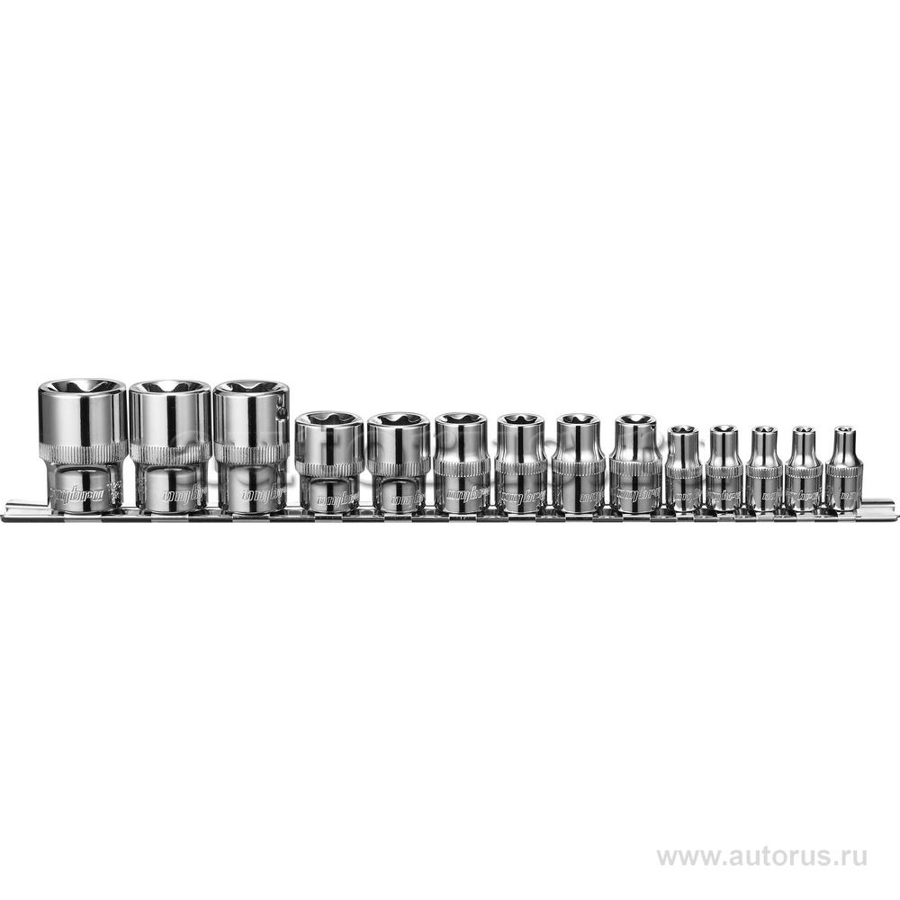 OMBRA 910614 Набор головок TORX (14пр.) OMBRA