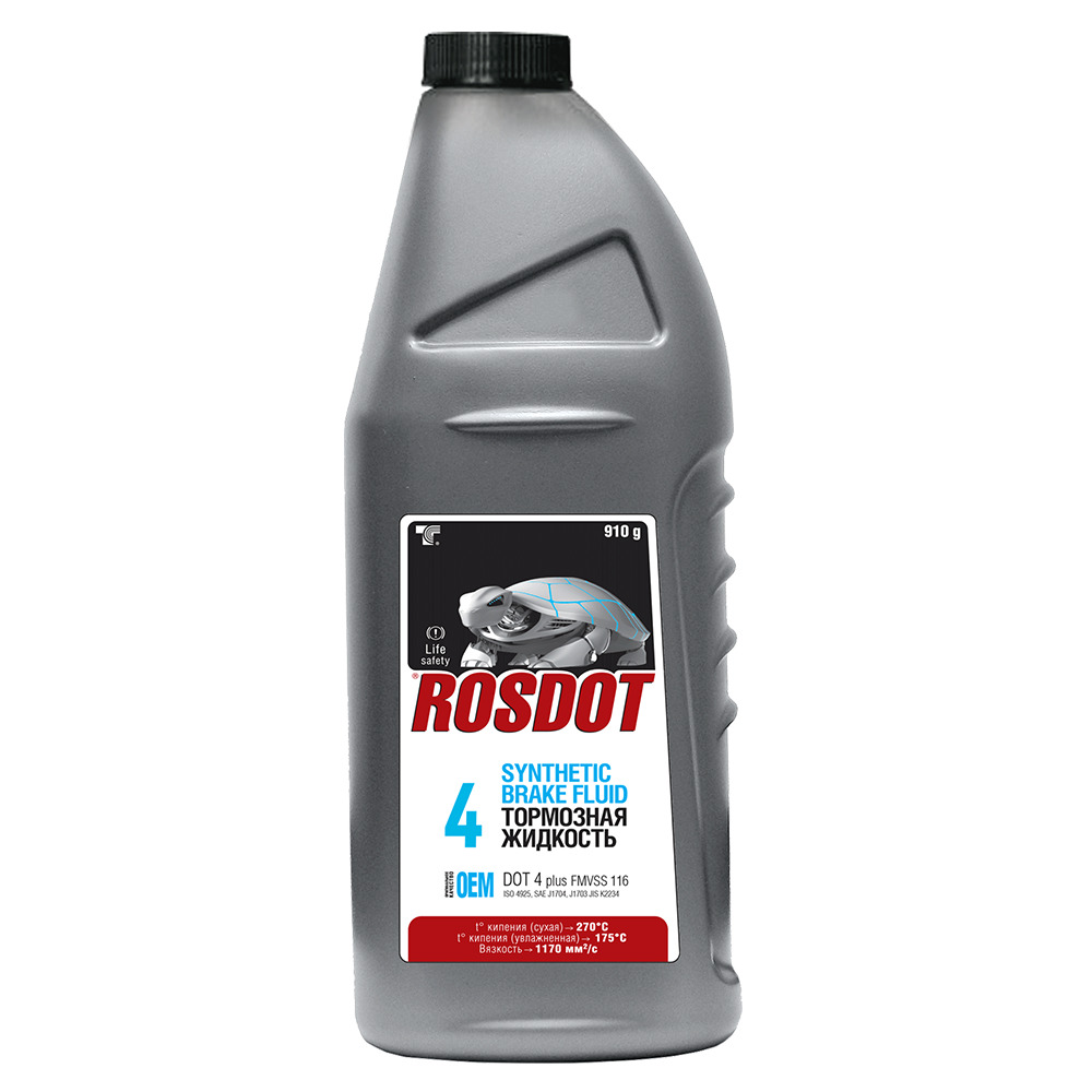 ROSDOT 430101H03 Жидкость тормозная ROSDOT-4 910г