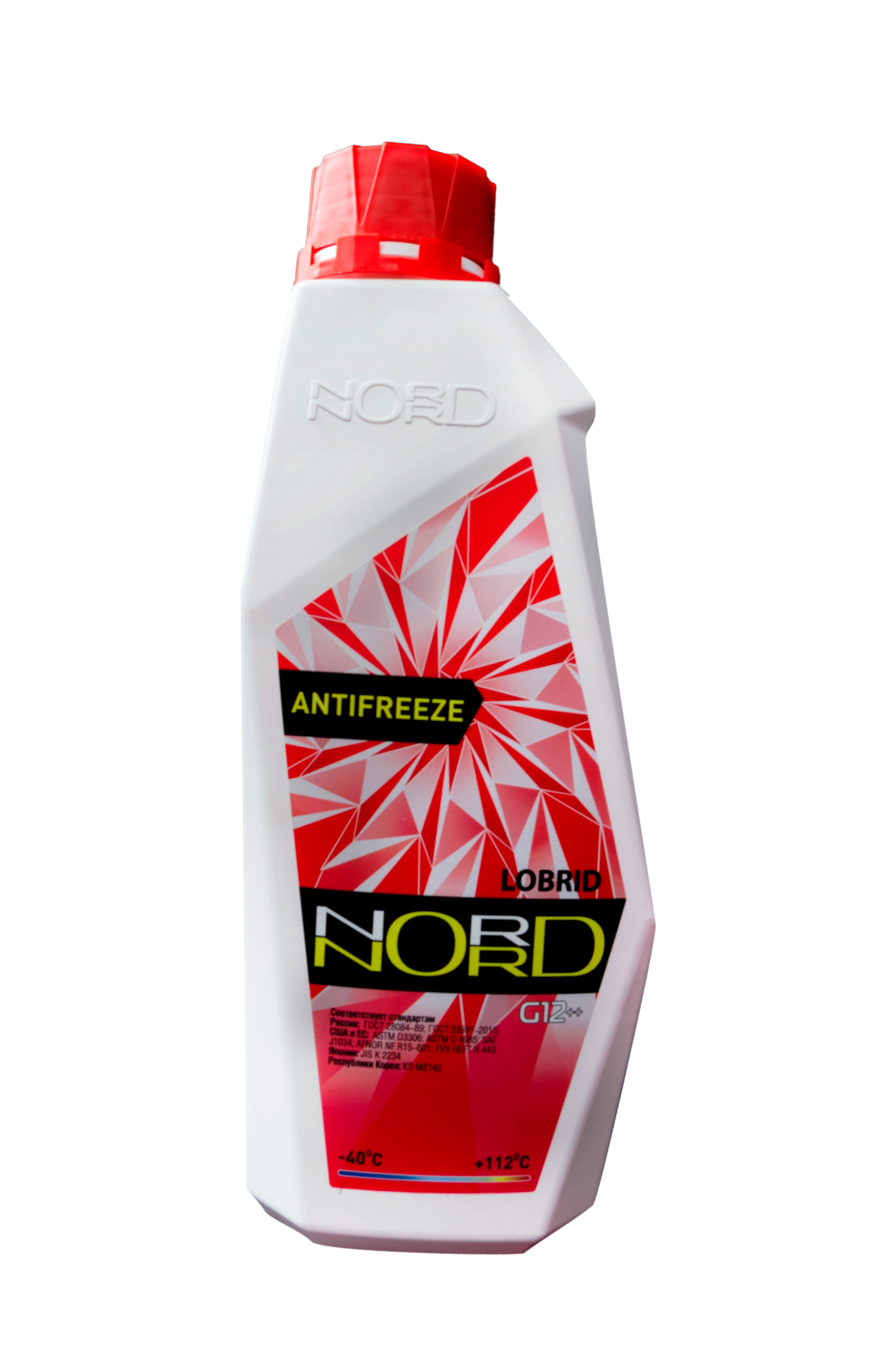nord NR20225 Антифриз NORD High Quality Antifreeze готовый -40C красный 1 кг