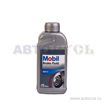 Mobil 150906R Жидкость тормозная MOBIL DOT-4 0,5л Brake FLUID universal