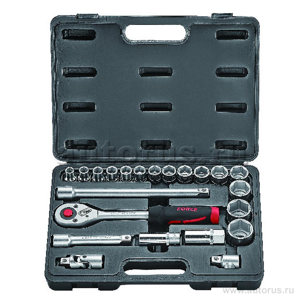 FORCE 4223 Набор инструмента 1/2DR 22пр FORCE 4223