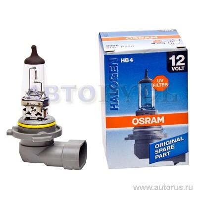 Osram 9006 Лампа галогеновая Original HB4 P22d 12 51W 3200, 1