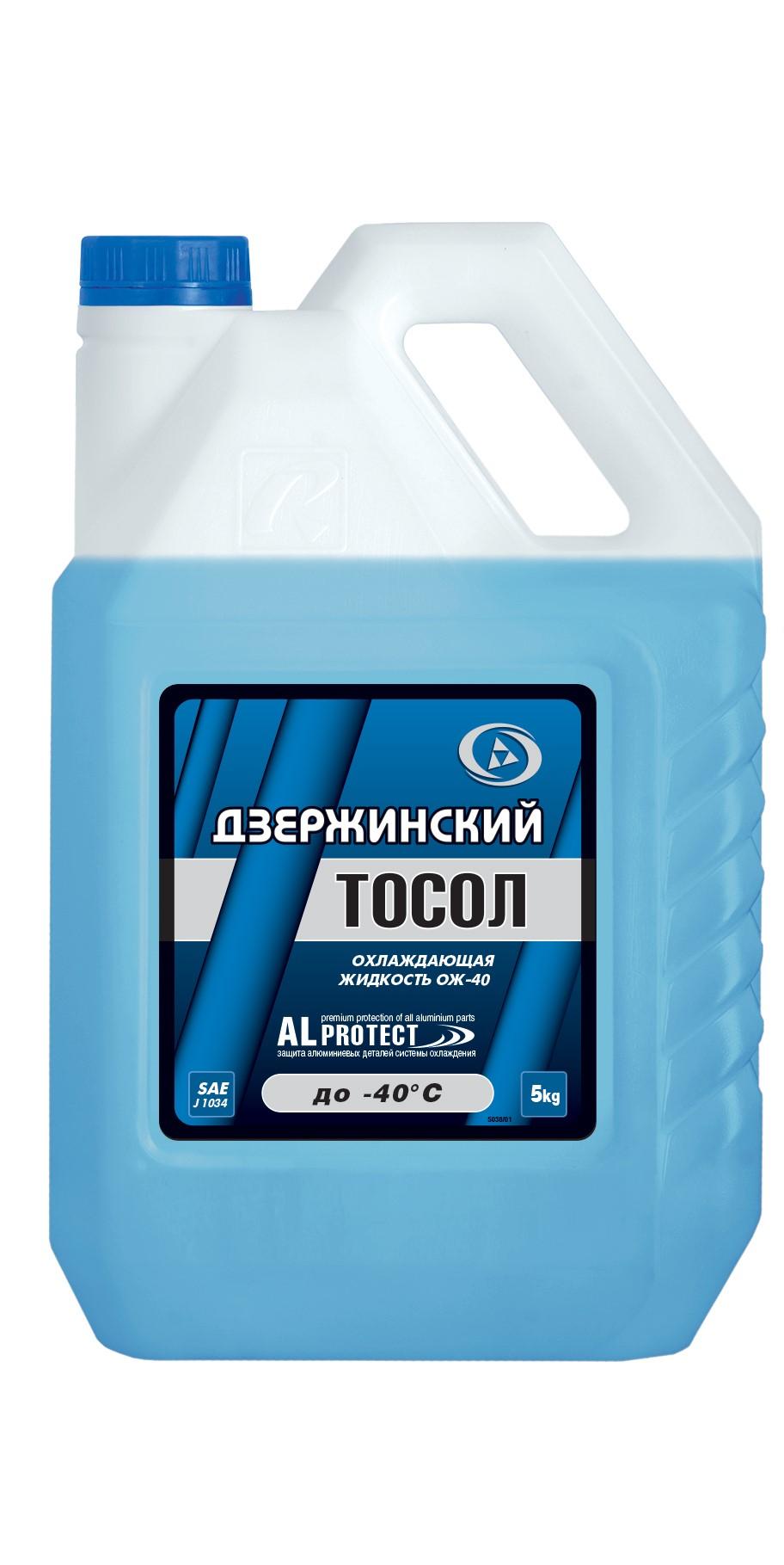 OILRIGHT 5038П Тосол Дзержинский ОЖ-40 5 кг