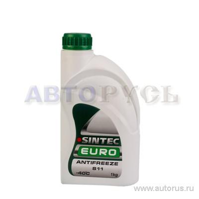 SINTEC 802558 Антифриз SINTEC EURO (зеленый) 1кг.