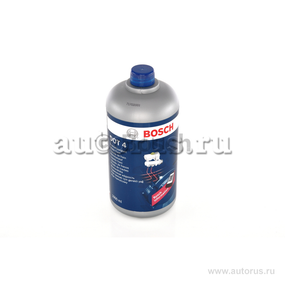 "Bosch 1987479107 Жидкость тормозная dot 4, """"BRAKE FLUID"""", 1л"