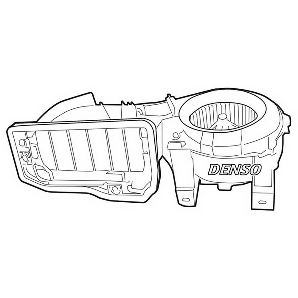 Denso DEA23001 Вентилятор отопителя