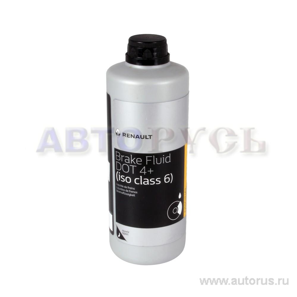 RENAULT 7711575504 Жидкость тормозная DOT 4 0.5л