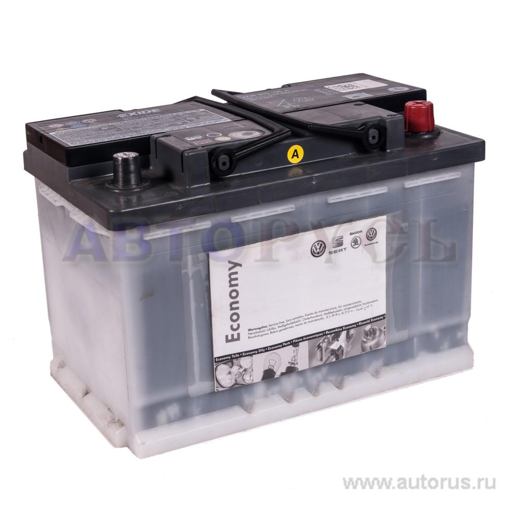 VAG JZW915105A Батарея аккумуляторная 72А/ч 350А 12В обратная поляр. стандартные клеммы
