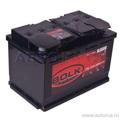 BOLK AB770 Батарея аккумуляторная 75А/ч 600А 12В обратная поляр. стандартные клеммы